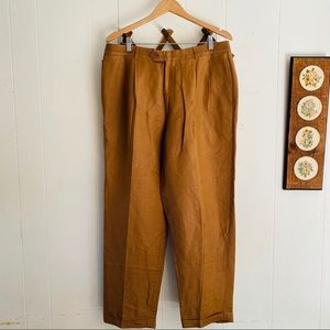 Made In Italy Linen Trousers